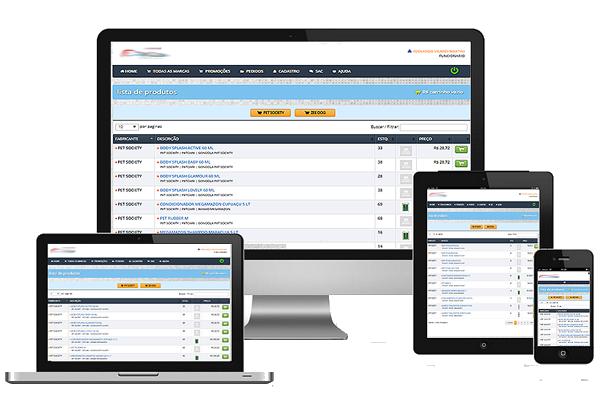 Plataforma B2B desencolvida para integrar-se ao seu ERP